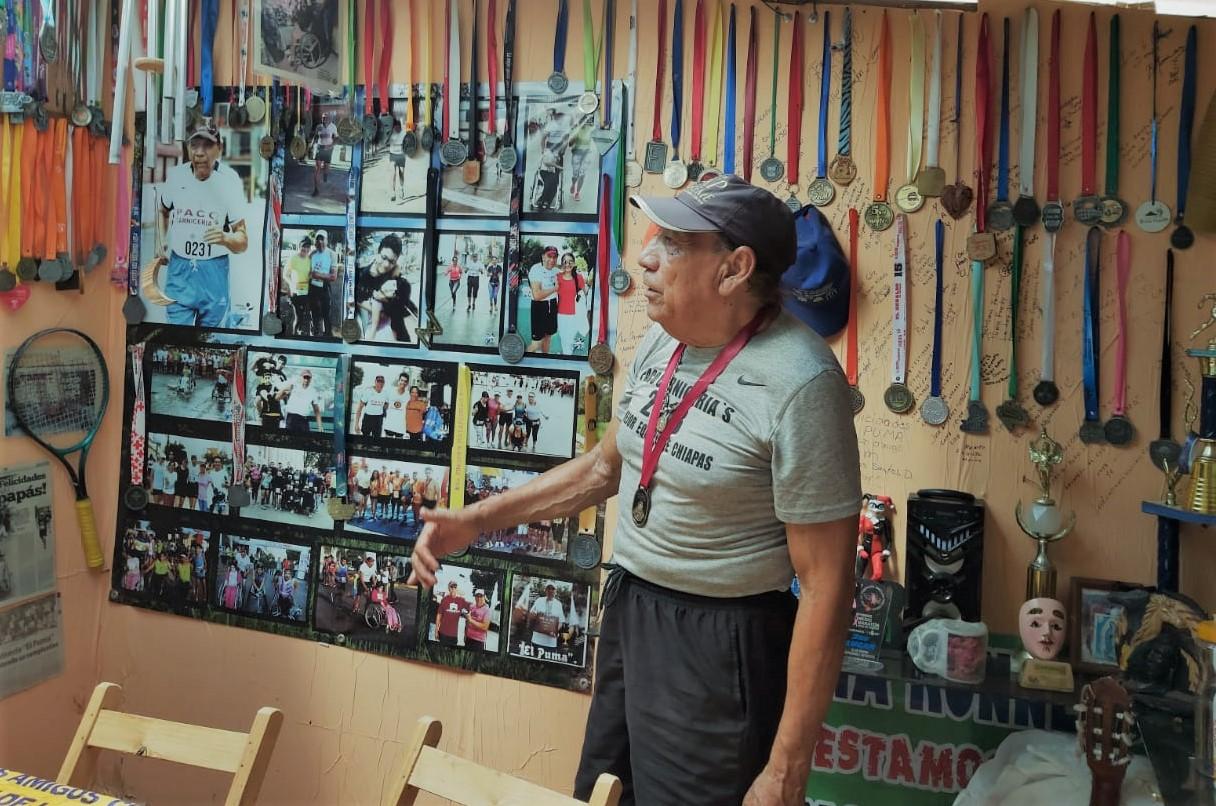 El Puma se hizo atleta en Tuxtla Gutiérrez