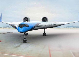 Flying-V El avión bumerán del futuro -Foto internet
