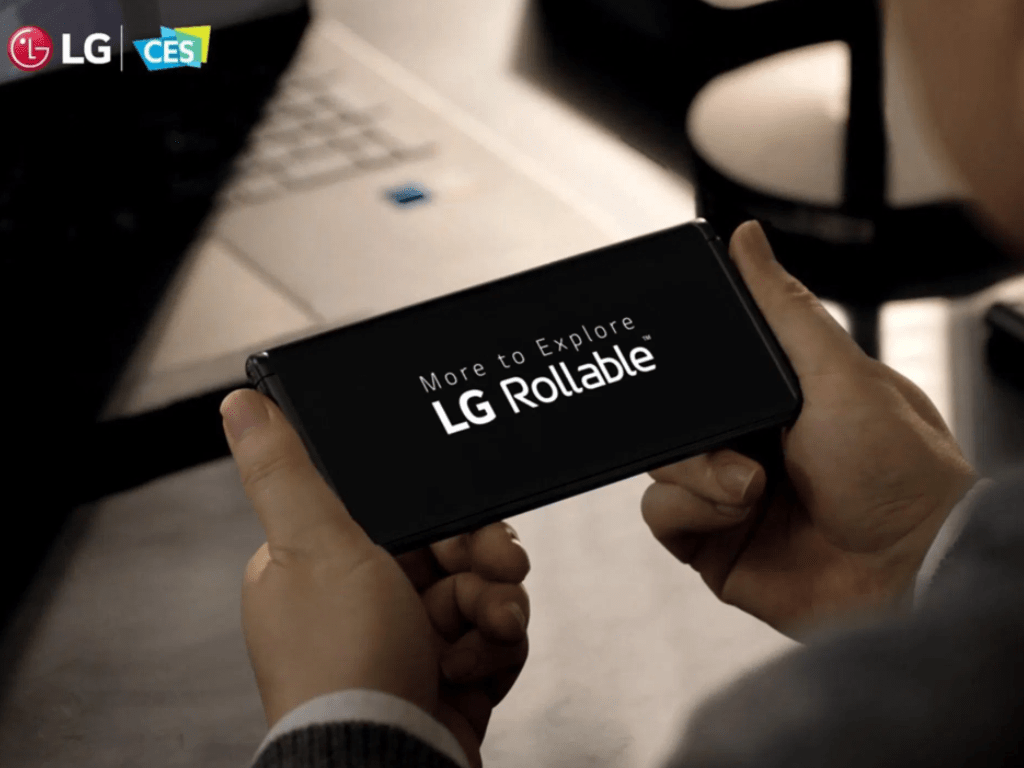 LG Rollable CES