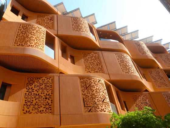 Fachada Masdar City