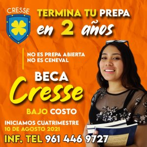 Publicidad Cresse Naranja