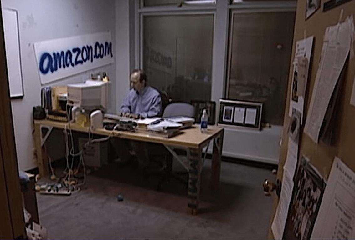 Bezos en sus inicios