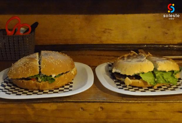 Torta y Hamburguesa