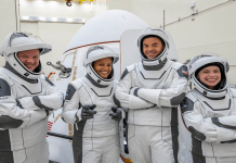 primer vuelo espacial privado p